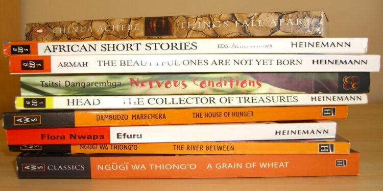 An encomium paean for the porters of African prose