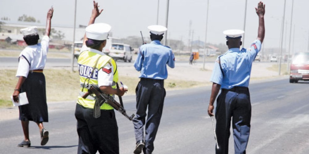 Instant fines for minor traffic offences in Kenya