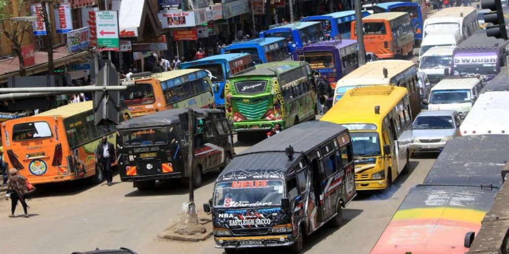 Nairobi matatu route numbers and stages