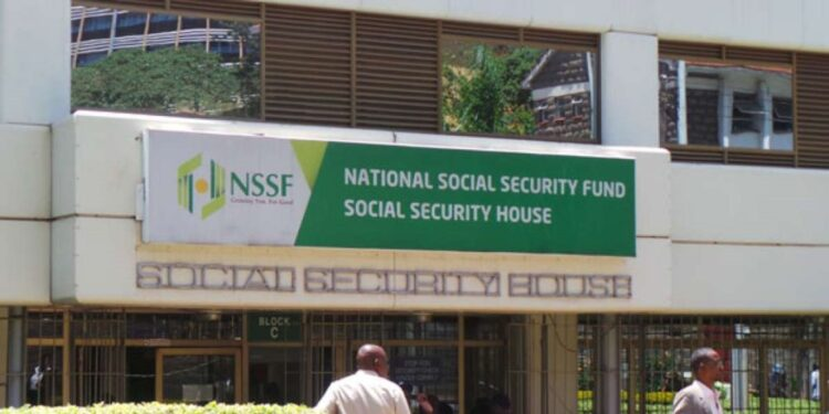 Benefits and grants offered by NSSF