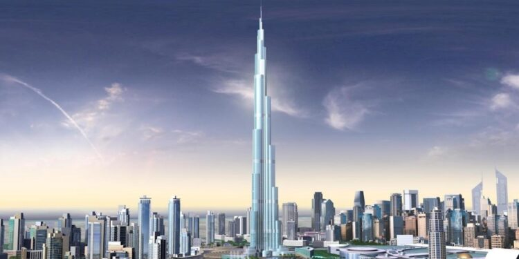 Top 20 tallest buildings in Asia