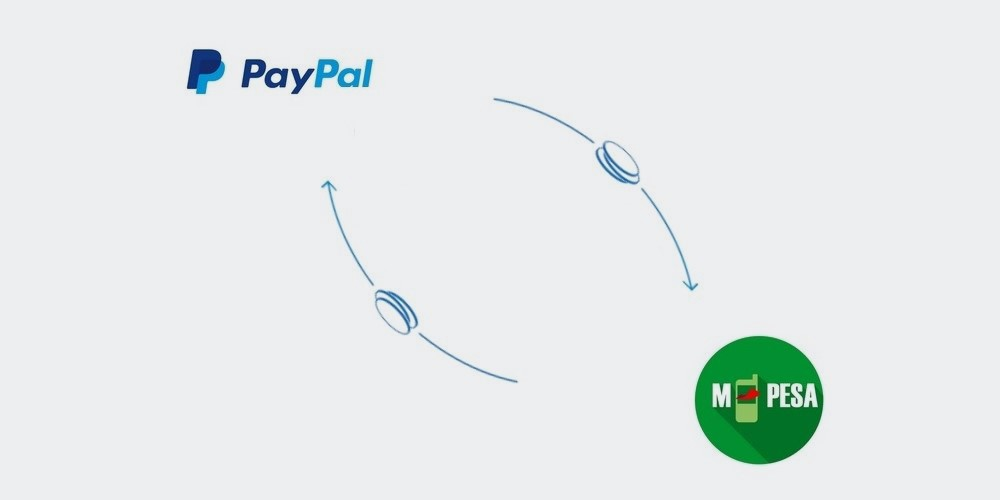 How to top up or withdraw money on PayPal with M-Pesa