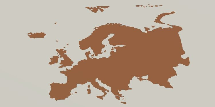 European countries by their population