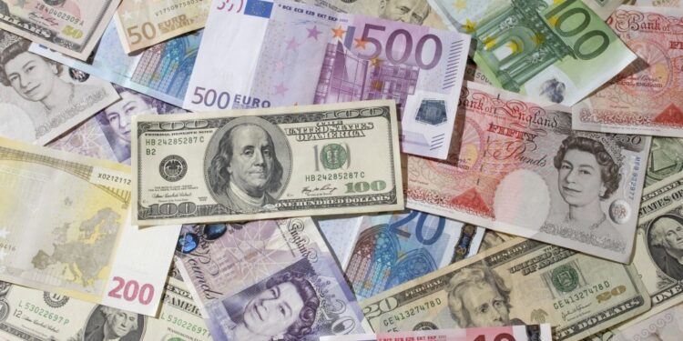 Currencies of all countries in the world