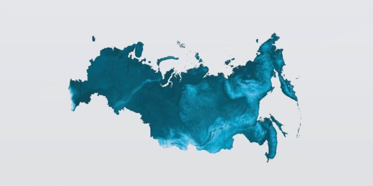 Standard time zones in Russia