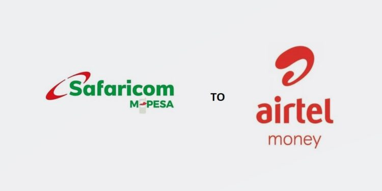 M-Pesa to Airtel Money transfer charges