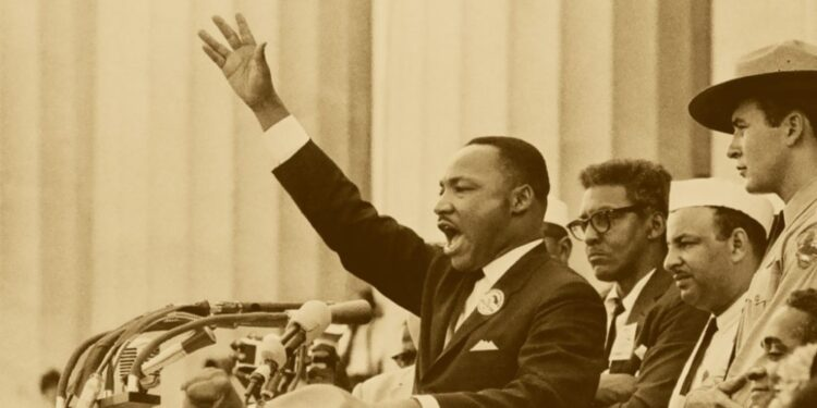 """""""I Have a Dream"""" speech by Martin Luther King Jr."""