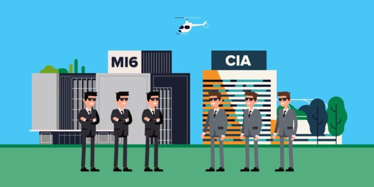 Differences between MI6 and CIA