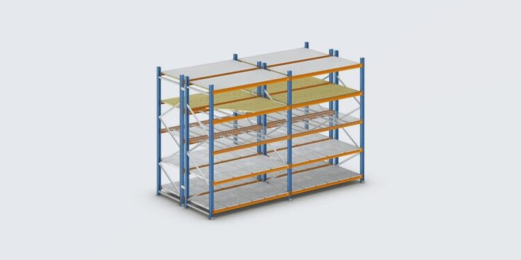 Types of warehouse shelving systems