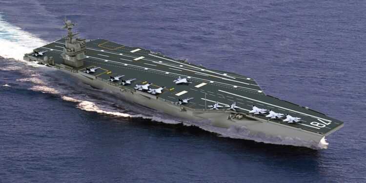 Top 10 largest aircraft carriers in the world