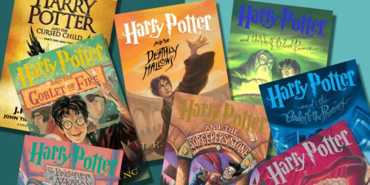 Top 20 best-selling book series of all time