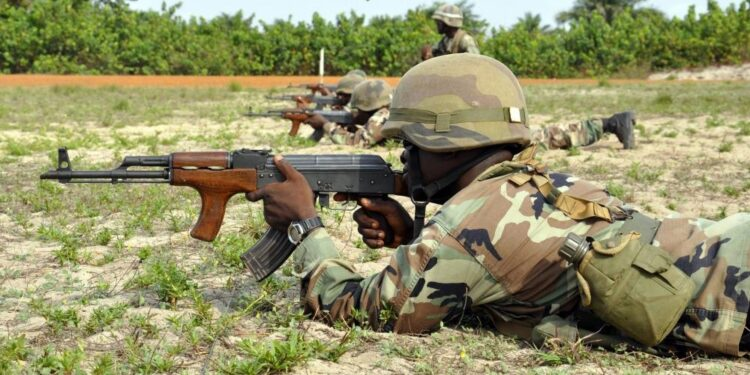 Top 10 lowest military spending countries in Africa
