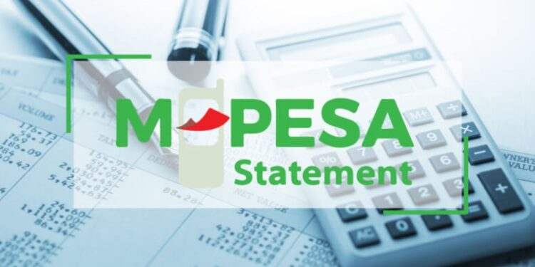 How to get M-Pesa statement