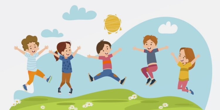 Benefits of outdoor play for children well-being