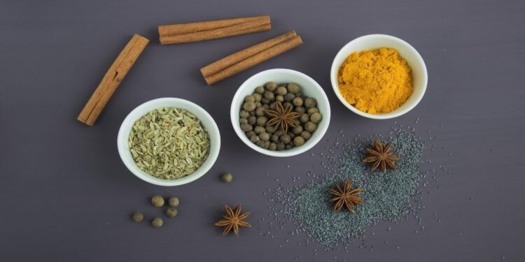 Herbs and spices for natural detoxification