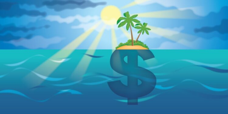 Top 20 largest corporate tax havens in the world