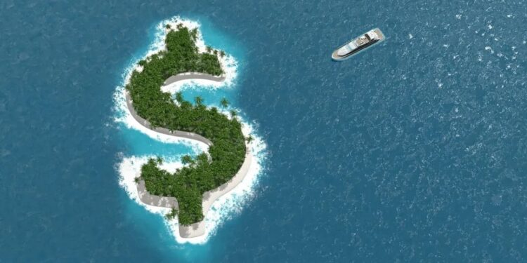 Top 20 largest tax havens in the world